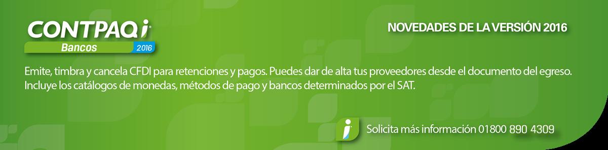 CONTPAQi ® Bancos