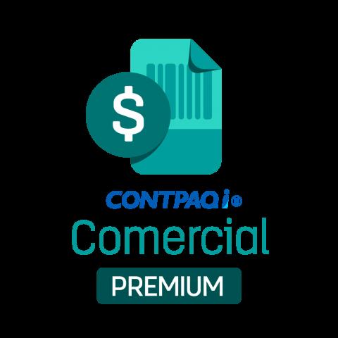 CONTPAQi® Comercial Premium Licenciamiento Anual (el nuevo AdminPAQ®)