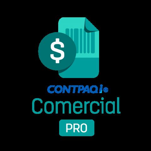 CONTPAQi® Comercial PRO Licencia anual Monoempresa