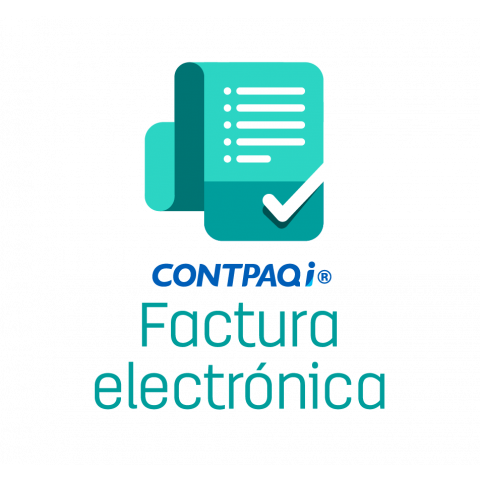 CONTPAQ i® Factura Electrónica Licencia anual para 1 empresa